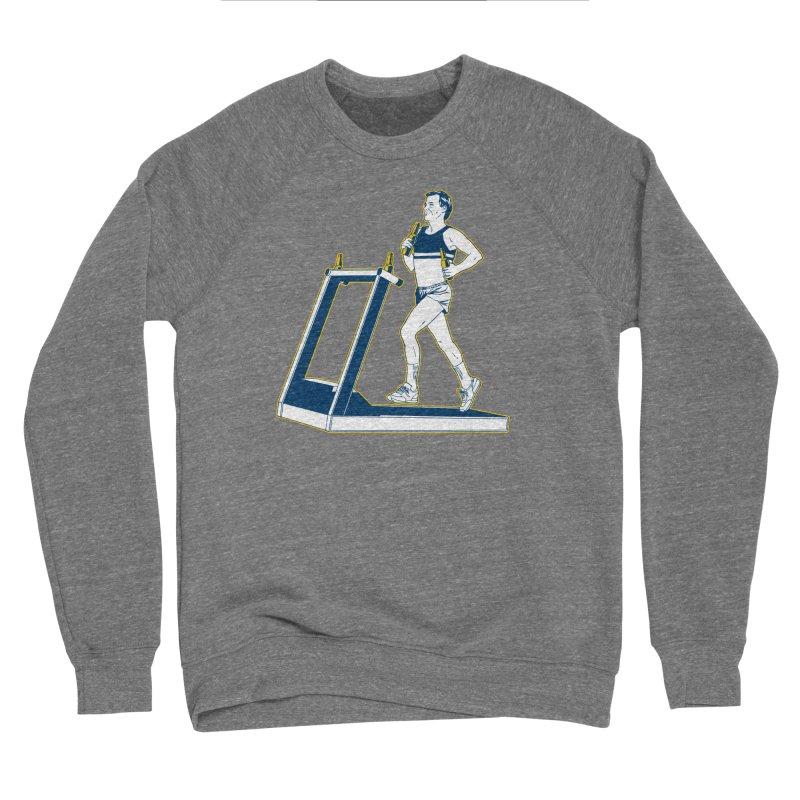 Beer Run Women's Sponge Fleece Sweatshirt by Jerkass