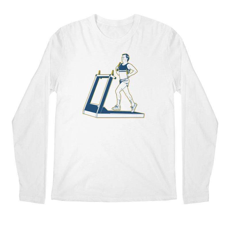 Beer Run Men's Regular Longsleeve T-Shirt by Jerkass
