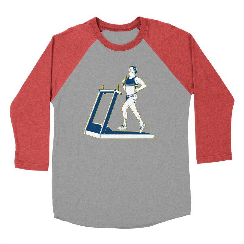 Beer Run Women's Baseball Triblend Longsleeve T-Shirt by Jerkass