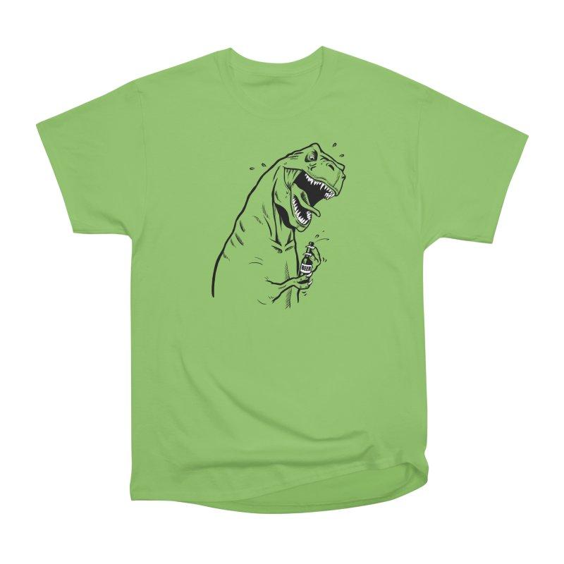 T-Rex with a Drinking Problem Men's T-Shirt by Jerkass