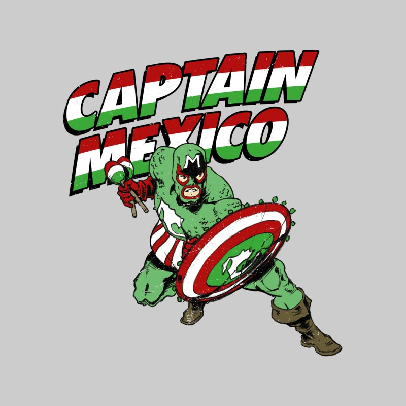 Captain Mexico Men's T-Shirt by Jerkass