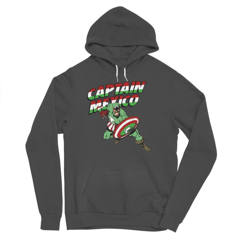 Captain Mexico Women's Sponge Fleece Pullover Hoody by Jerkass