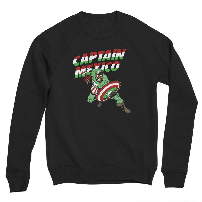 Captain Mexico Women's Sponge Fleece Sweatshirt by Jerkass