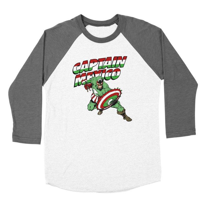 Captain Mexico Women's Longsleeve T-Shirt by Jerkass