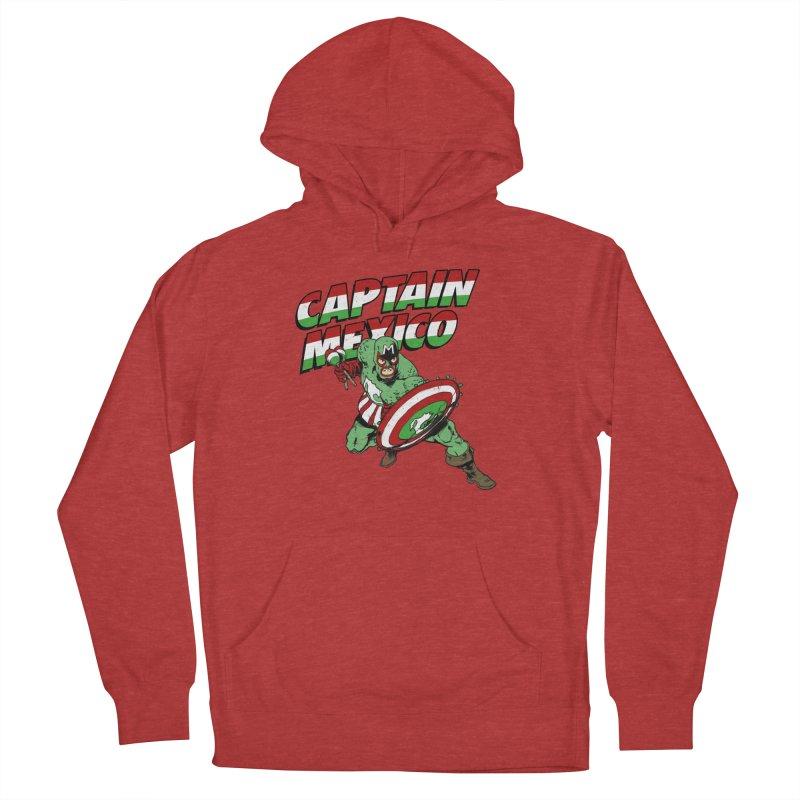 Captain Mexico Women's French Terry Pullover Hoody by Jerkass