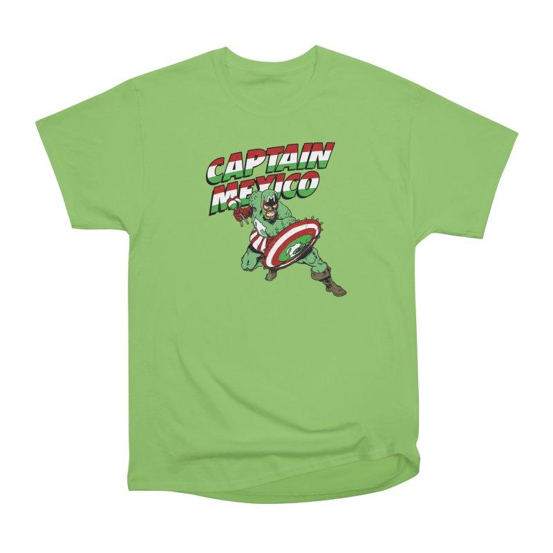 Captain Mexico Men's Heavyweight T-Shirt by Jerkass