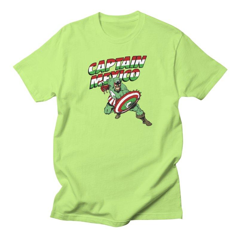 Captain Mexico Men's Regular T-Shirt by Jerkass