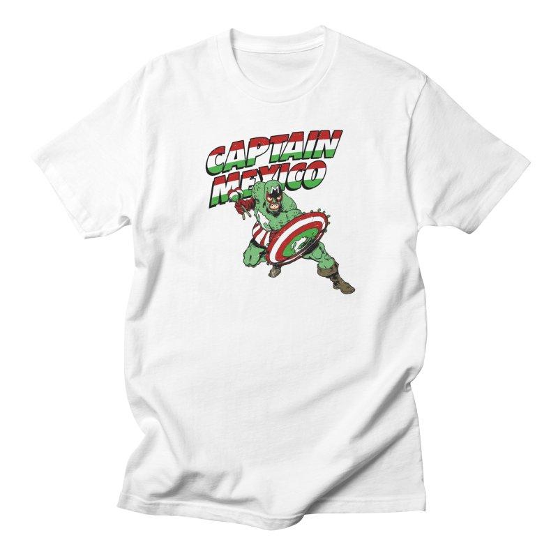 Captain Mexico Women's Regular Unisex T-Shirt by Jerkass