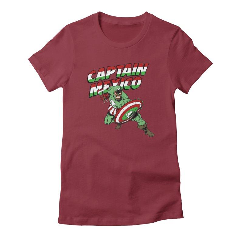 Captain Mexico Women's T-Shirt by Jerkass