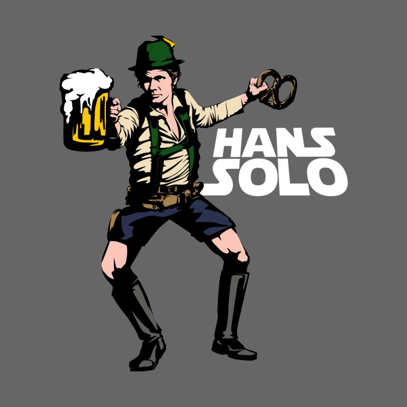 Hans Solo Men's T-Shirt by Jerkass
