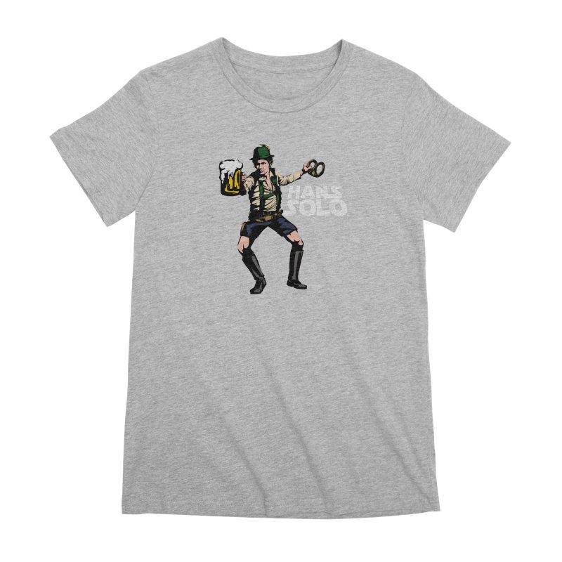 Hans Solo Women's Premium T-Shirt by Jerkass