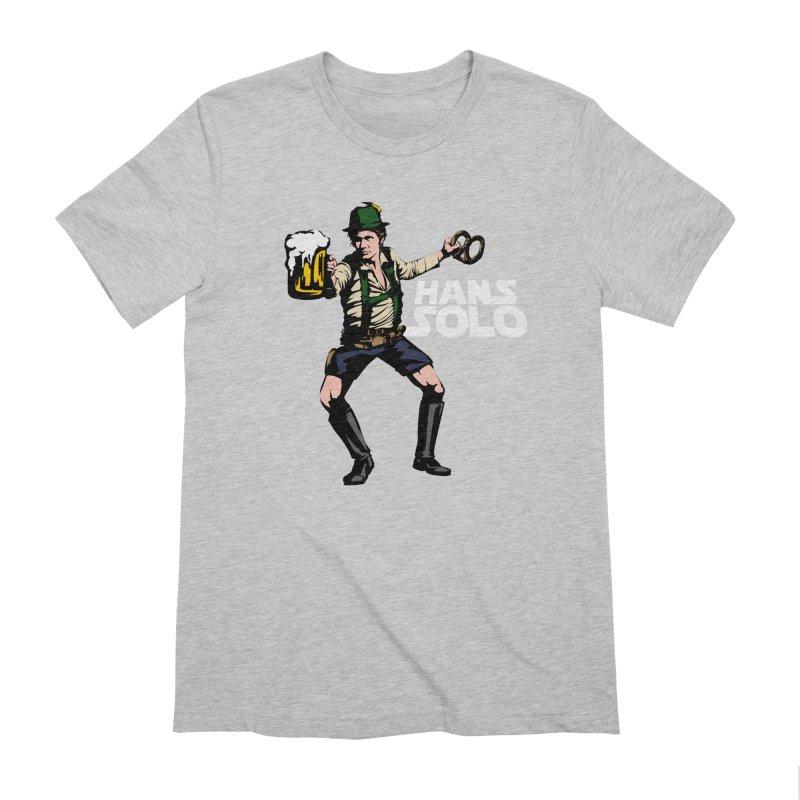 Hans Solo Men's Extra Soft T-Shirt by Jerkass