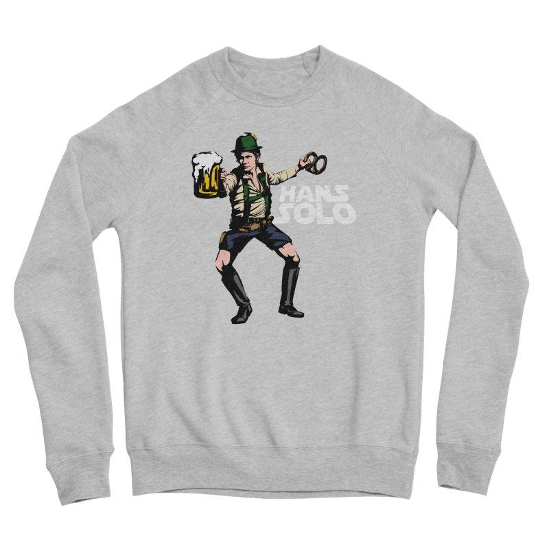 Hans Solo Women's Sponge Fleece Sweatshirt by Jerkass
