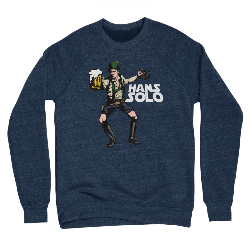Hans Solo Men's Sponge Fleece Sweatshirt by Jerkass