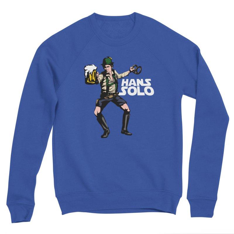 Hans Solo Men's Sponge Fleece Sweatshirt by Jerkass