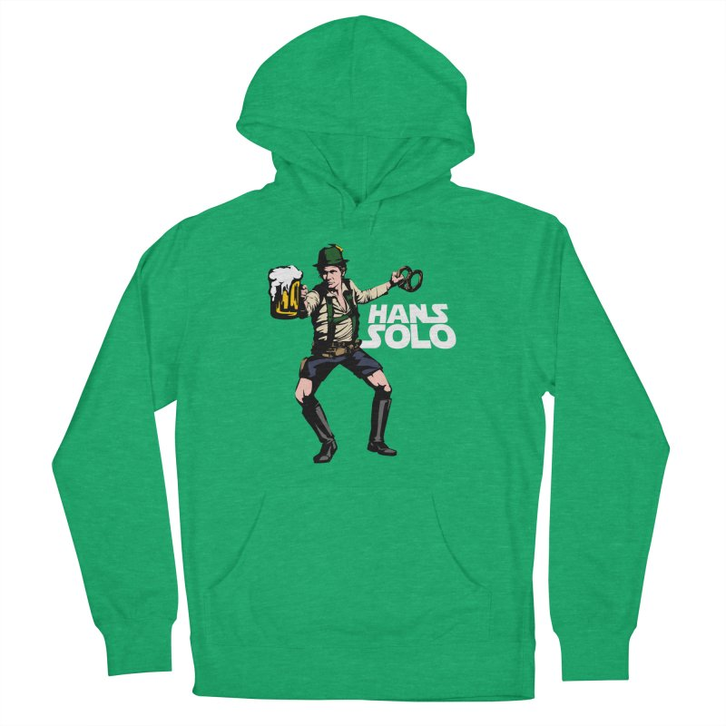 Hans Solo Women's French Terry Pullover Hoody by Jerkass
