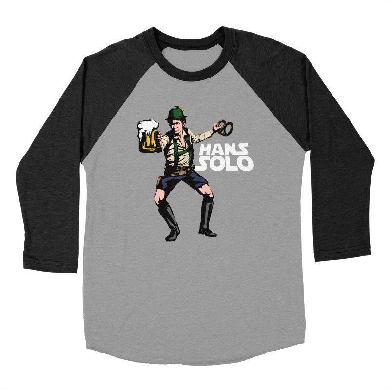 Hans Solo Women's Baseball Triblend Longsleeve T-Shirt by Jerkass