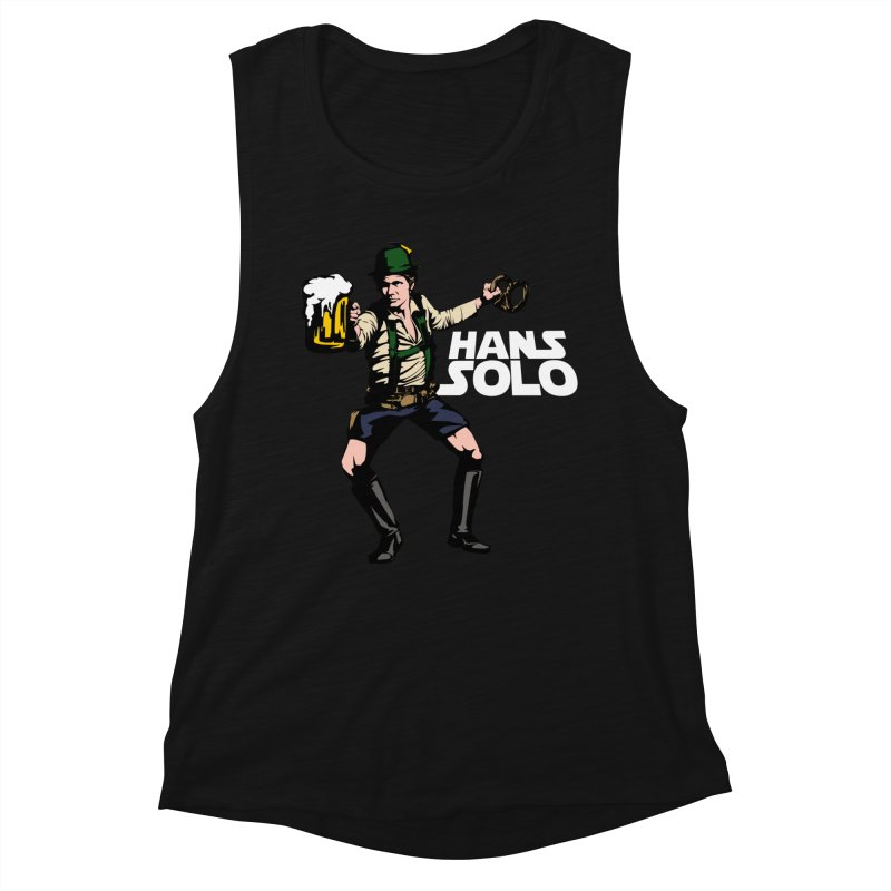 Hans Solo Women's Muscle Tank by Jerkass