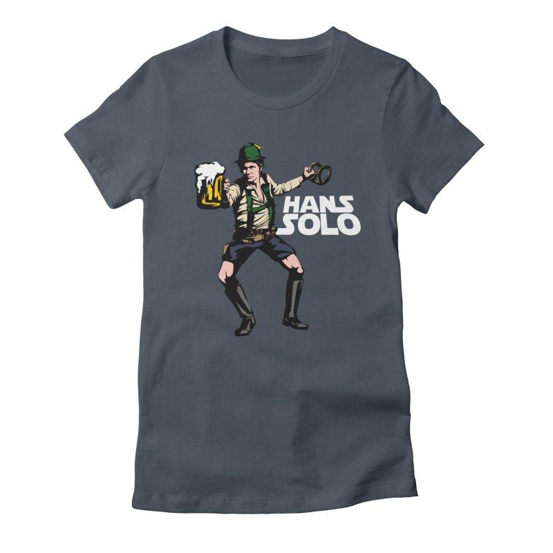 Hans Solo Women's T-Shirt by Jerkass