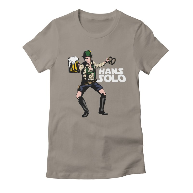 Hans Solo Women's Fitted T-Shirt by Jerkass