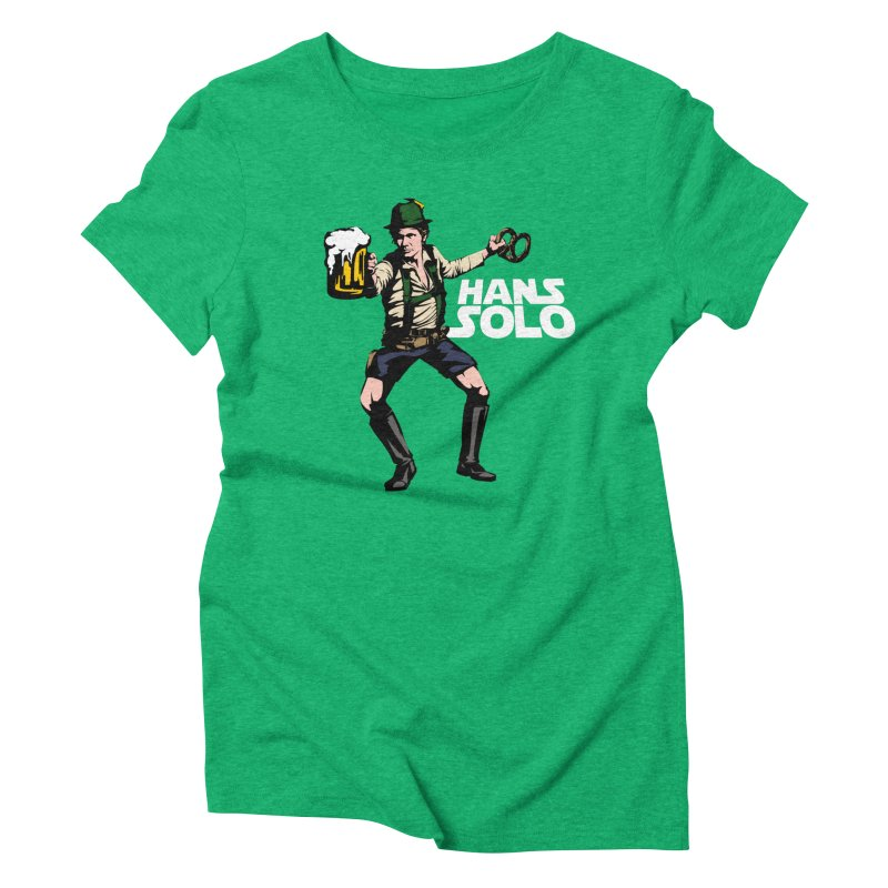 Hans Solo Women's Triblend T-Shirt by Jerkass