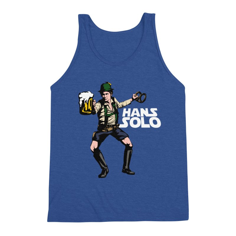 Hans Solo Men's Triblend Tank by Jerkass