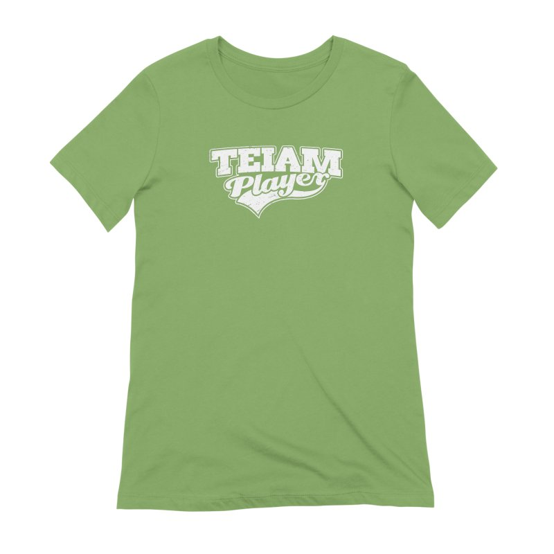 TEIAM Player Women's Extra Soft T-Shirt by Jerkass