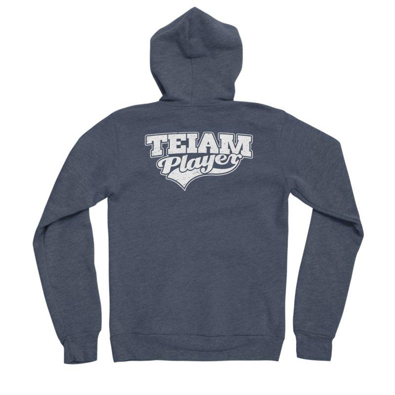 TEIAM Player Women's Sponge Fleece Zip-Up Hoody by Jerkass