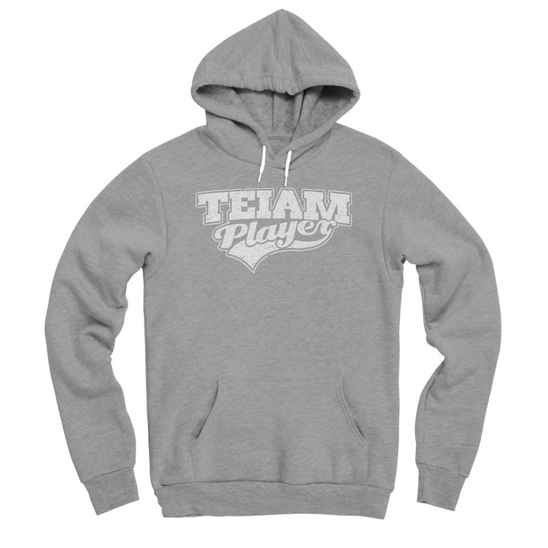 TEIAM Player Men's Sponge Fleece Pullover Hoody by Jerkass