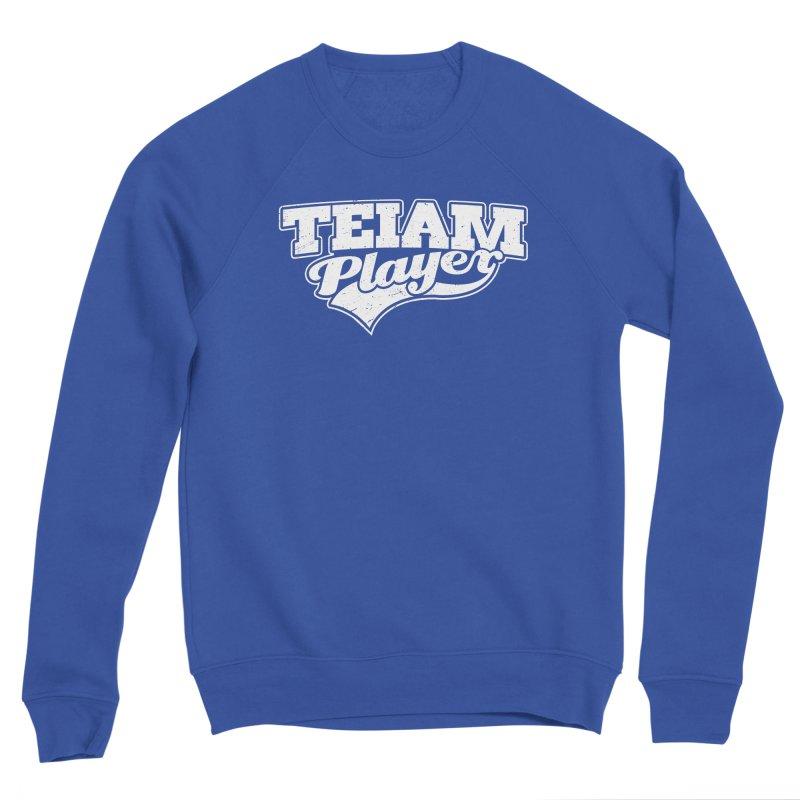 TEIAM Player Women's Sponge Fleece Sweatshirt by Jerkass