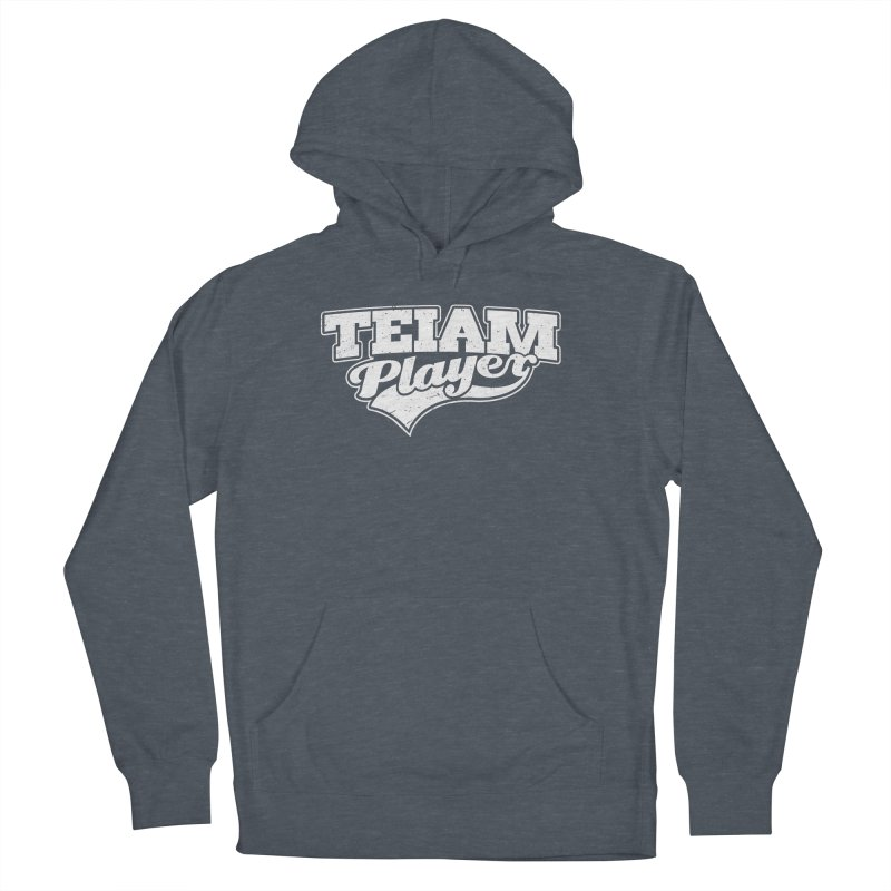 TEIAM Player Men's French Terry Pullover Hoody by Jerkass