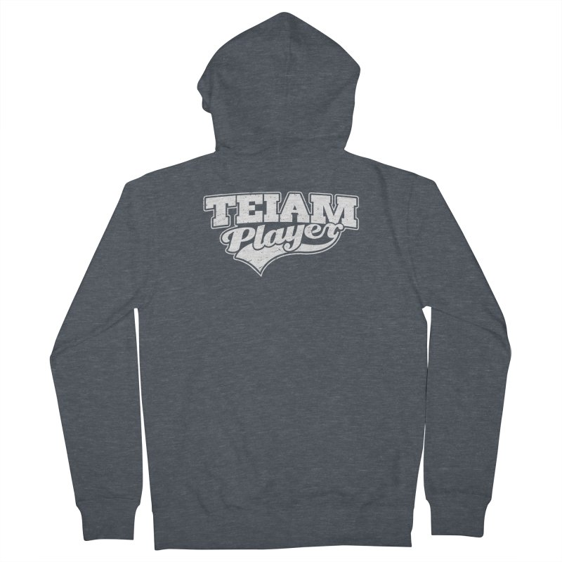 TEIAM Player Women's French Terry Zip-Up Hoody by Jerkass