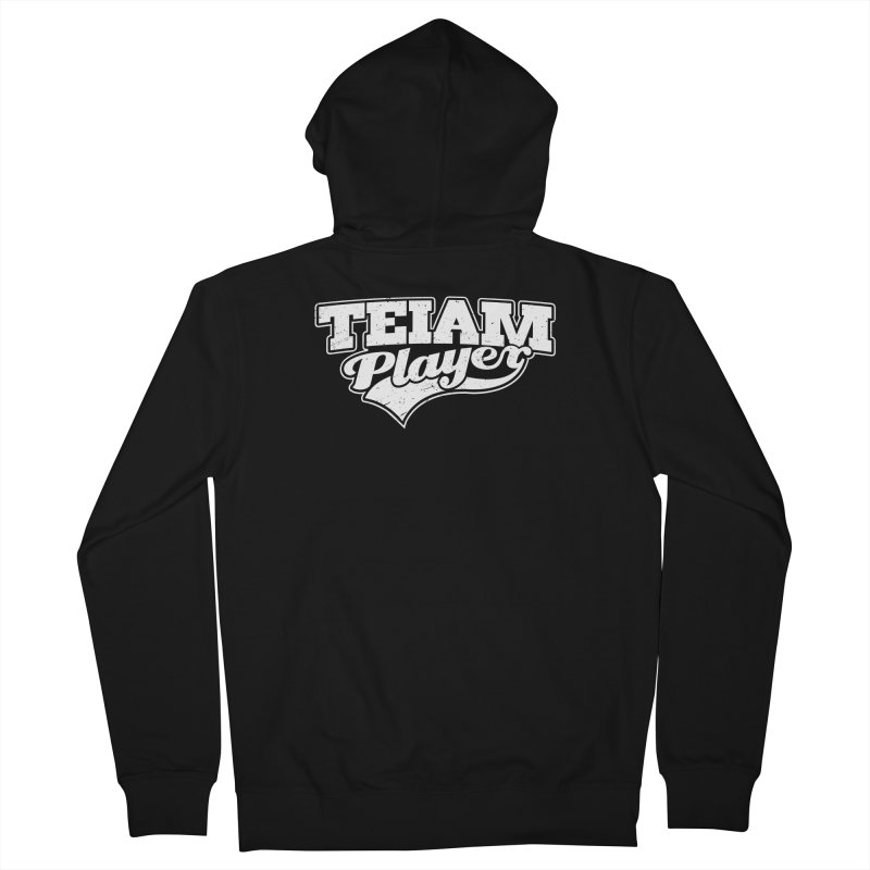 TEIAM Player Men's French Terry Zip-Up Hoody by Jerkass