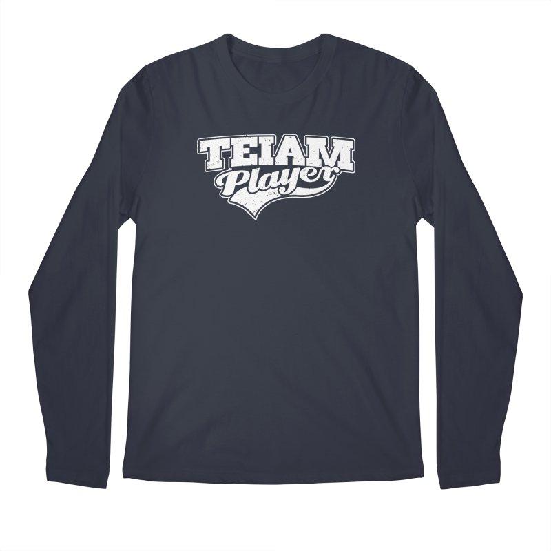 TEIAM Player Men's Regular Longsleeve T-Shirt by Jerkass