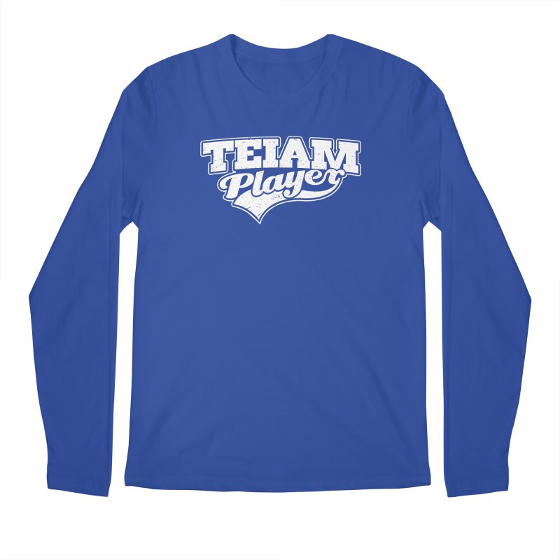 TEIAM Player Men's Regular Longsleeve T-Shirt by Jerkass