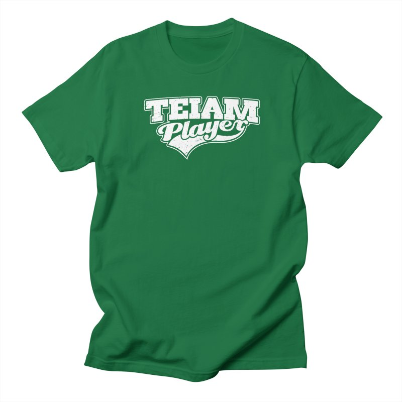 TEIAM Player Men's Regular T-Shirt by Jerkass