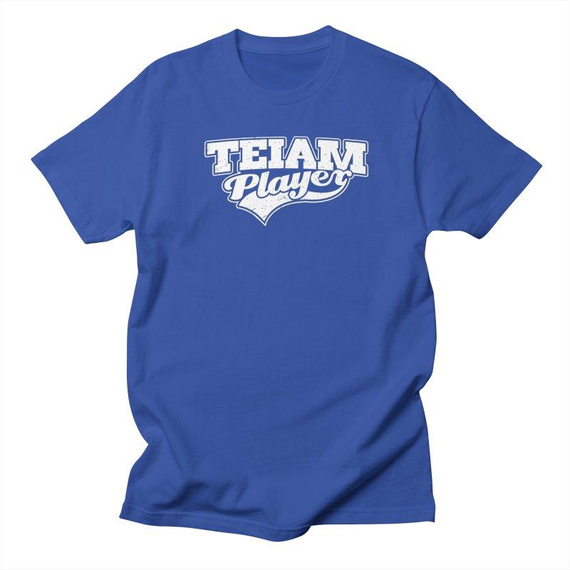 TEIAM Player Women's Regular Unisex T-Shirt by Jerkass