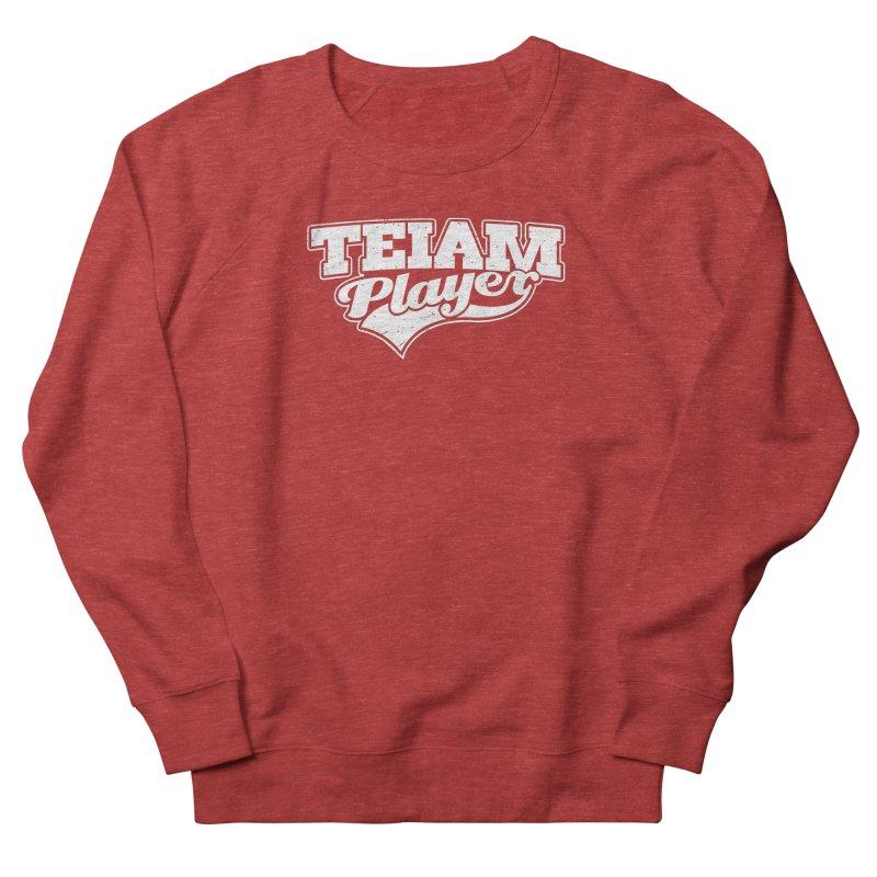 TEIAM Player Men's French Terry Sweatshirt by Jerkass