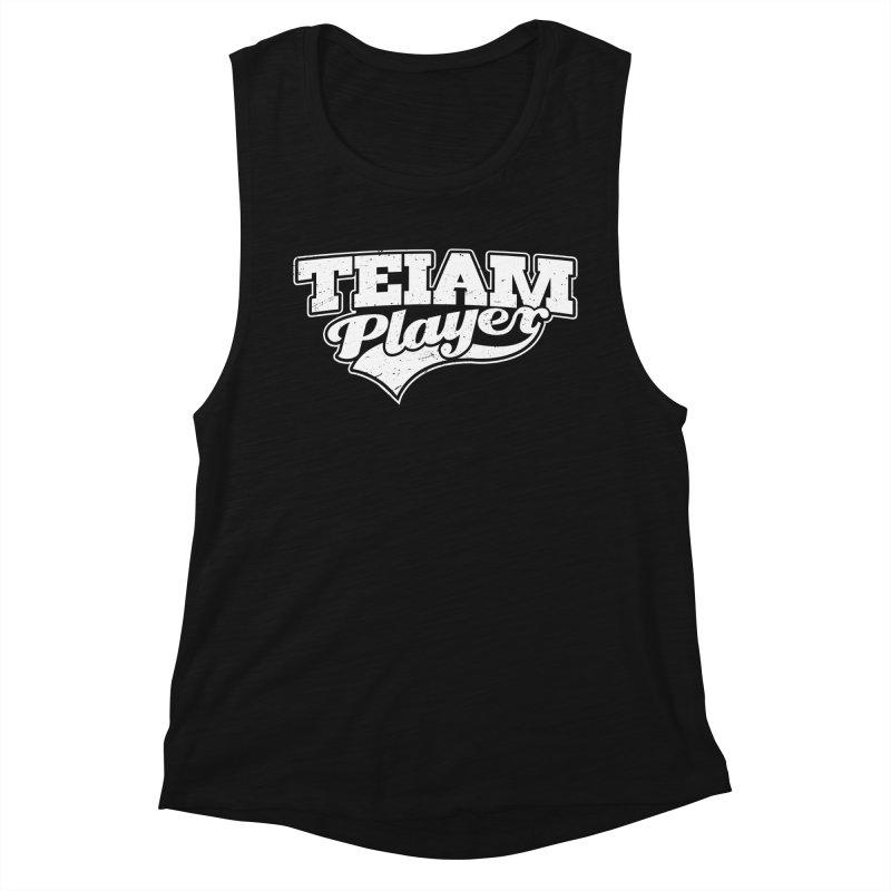 TEIAM Player Women's Tank by Jerkass