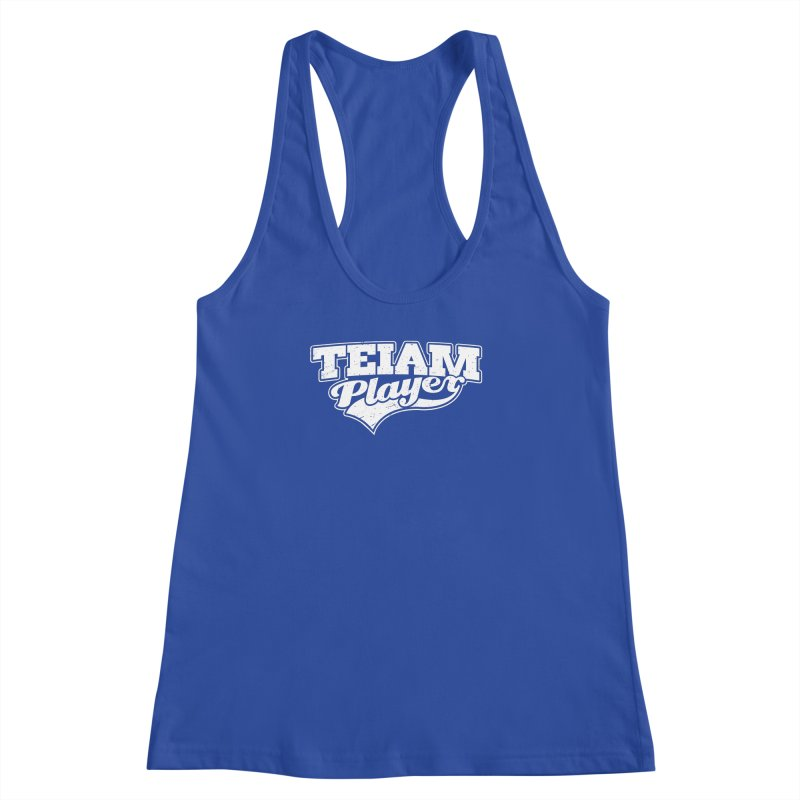TEIAM Player Women's Racerback Tank by Jerkass