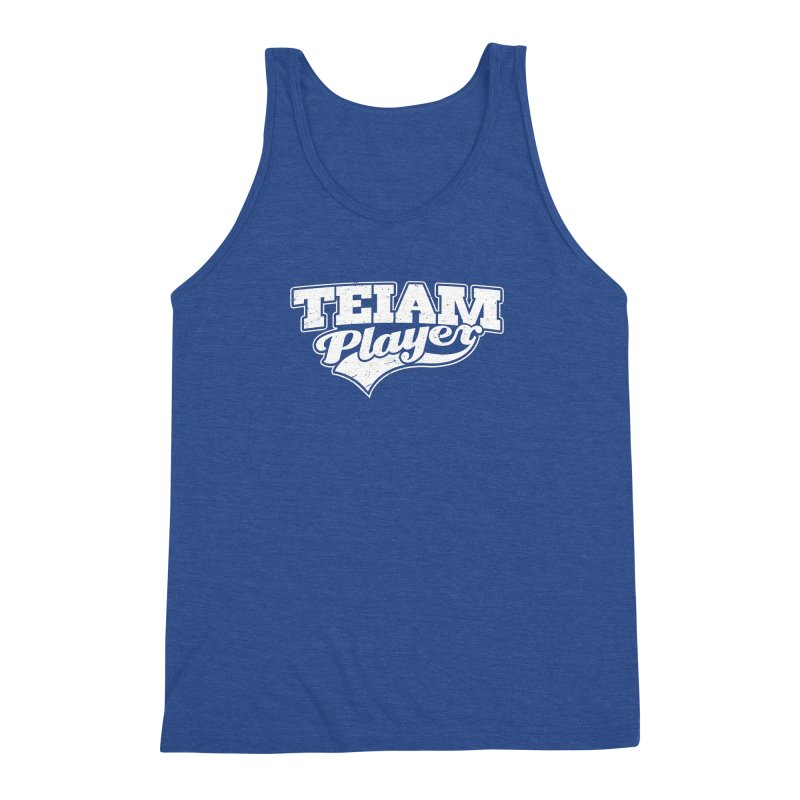 TEIAM Player Men's Triblend Tank by Jerkass