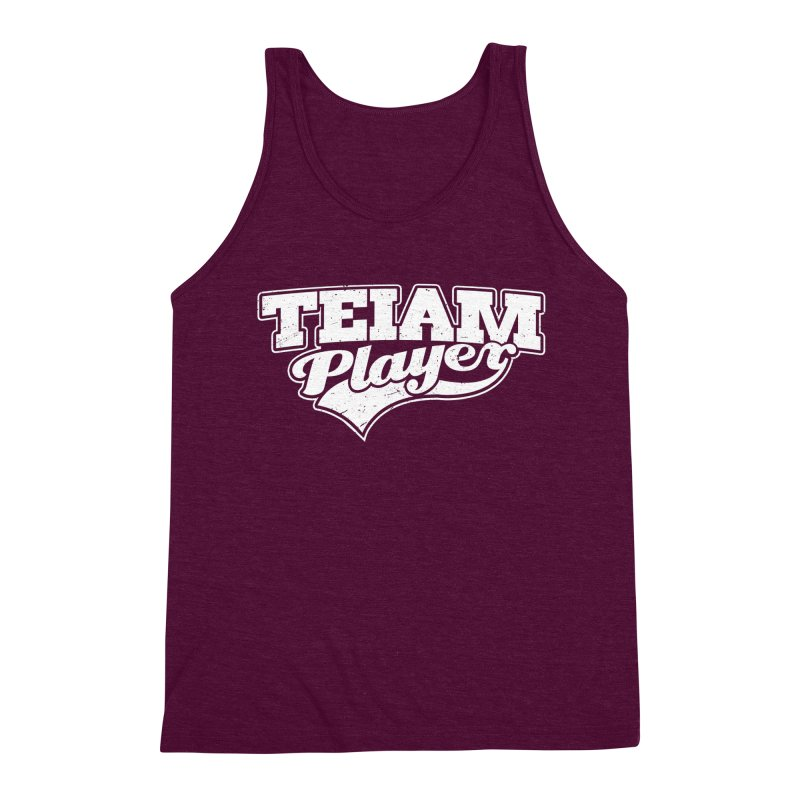 TEIAM Player Men's Triblend Tank by Jerkass