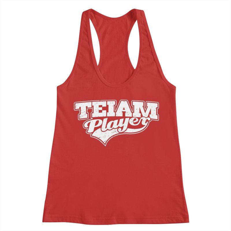 TEIAM Player Women's Racerback Tank by Jerkass