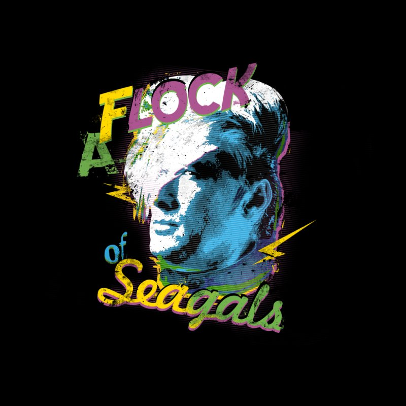 A Flock of Seagals Women's T-Shirt by Jerkass
