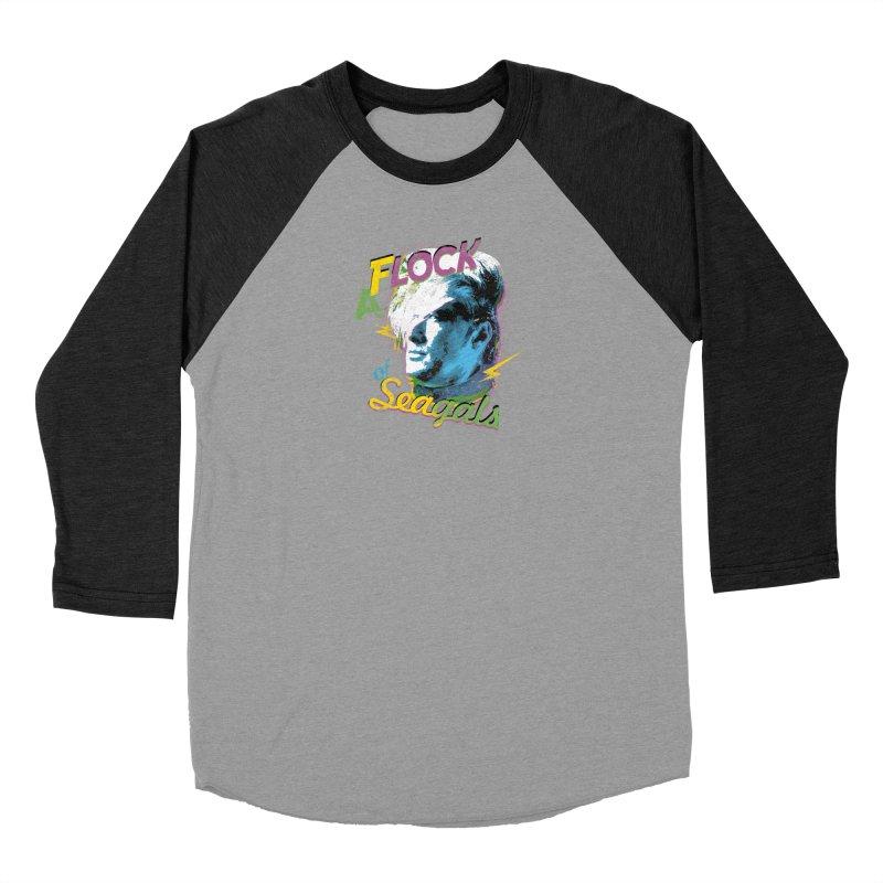 A Flock of Seagals Women's Baseball Triblend Longsleeve T-Shirt by Jerkass