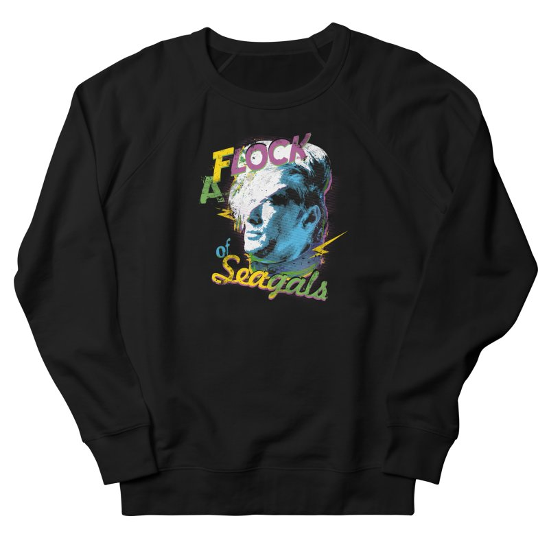 A Flock of Seagals Men's French Terry Sweatshirt by Jerkass