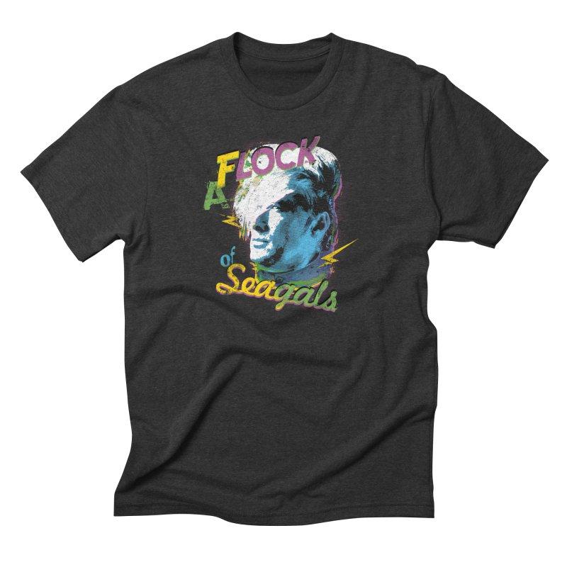 A Flock of Seagals Men's Triblend T-Shirt by Jerkass