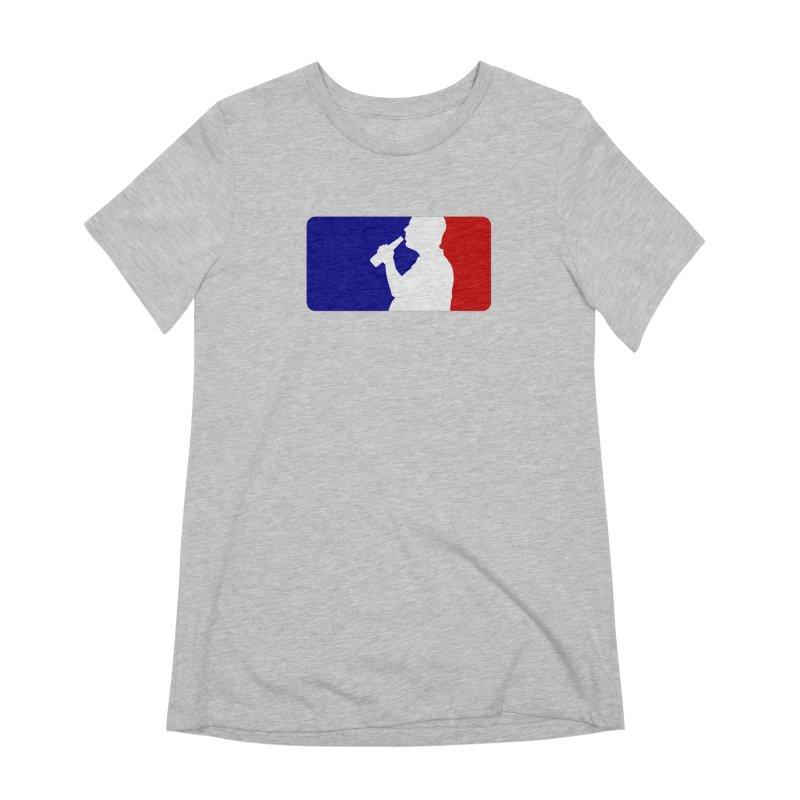 Major League Drinking Logo Women's Extra Soft T-Shirt by Jerkass