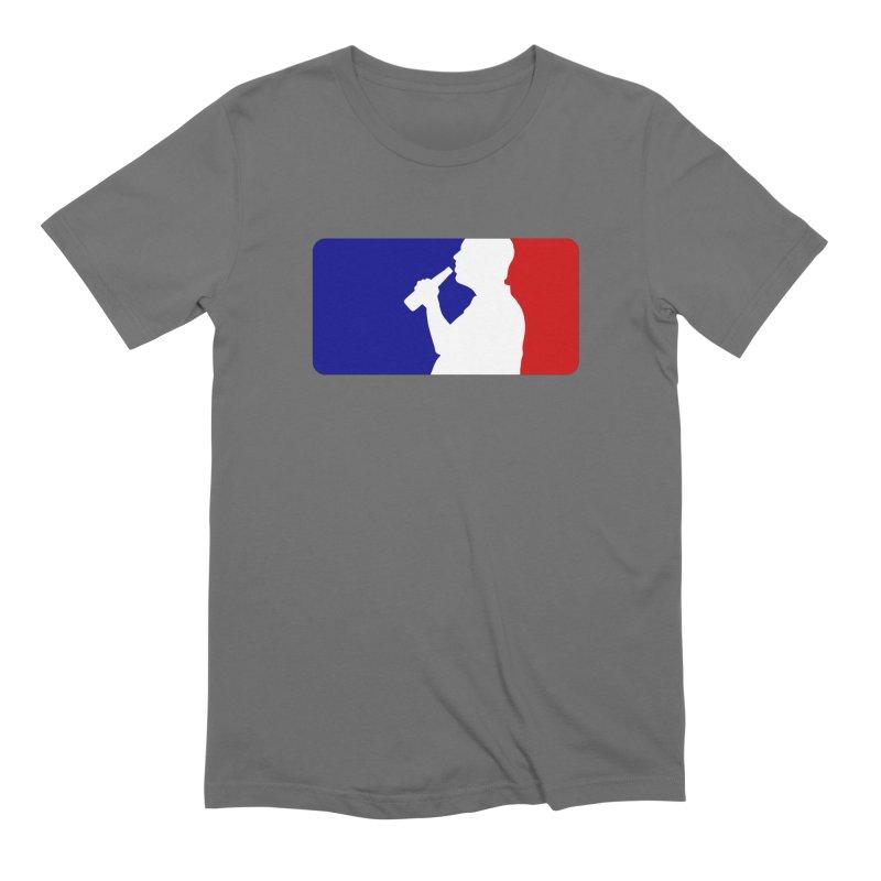 Major League Drinking Logo Men's Extra Soft T-Shirt by Jerkass