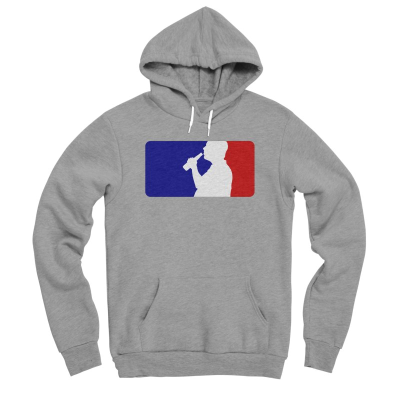 Major League Drinking Logo Men's Sponge Fleece Pullover Hoody by Jerkass